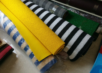 15 mm x 1.22m x 8 Solid Backing PVC Coil Mat , PVC Coil Carpet