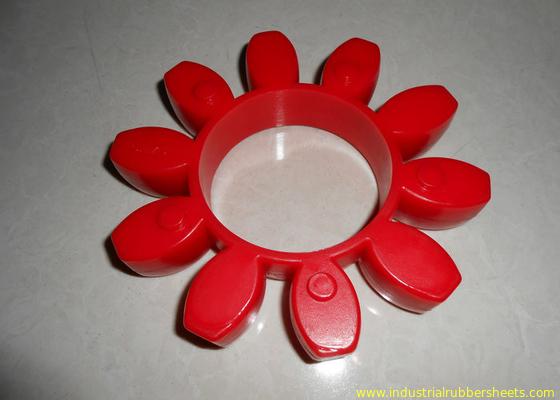 चीन प्रतिरोधी लाल पॉलिराइथेन कूपलिंग पहनें, 98 शोर ए जीआर या पु युग्मन वितरक
