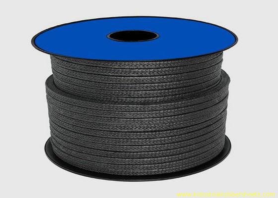 चीन सीलिंग सामग्री / ग्रेफाइट ग्रैंड पैकिंग रस्सी के लिए ब्लैक टेफ्लॉन पीटीएफई पैकिंग वितरक
